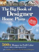 The Big Book of Designer Home Plans