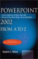 Powerpoint 2002 From A To Z