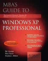 MBA's Guide to Windows XP Professional
