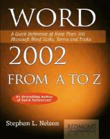Word 2002 From A to Z