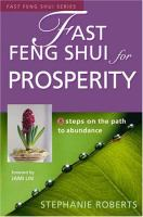 Fast Feng Shui for Prosperity