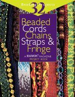 Beaded Cords, Chains, Straps, & Fringe