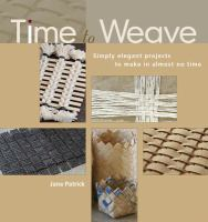 Time to Weave