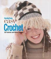 Family Circle Easy Crochet