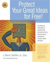 Protect your Great Ideas for Free!