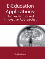 E-education Applications