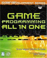 Game Programming All in One (Premier Press Game Development Series)