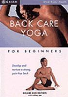 Back Care Yoga for Beginners