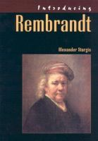 Introducing Rembrandt