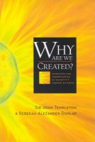 Why Are We Created?