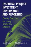 Essential Project Investment Governance and Reporting