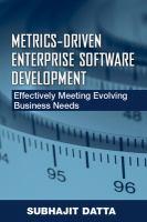 Metrics-driven Enterprise Software Development