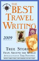 The Best Travel Writing 2009