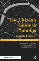 The Citizen's Guide to Planning