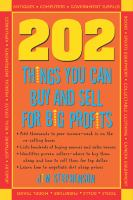202 Things You Can Buy and Sell for Big Profits