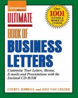 Ultimate Book of Business Letters