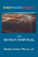 Food Water Energy and Human Survival