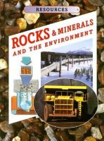 Rocks & Minerals and the Environment
