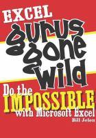 Excel Gurus Gone Wild