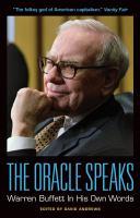The Oracle Speaks