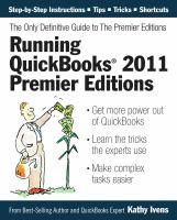Running Quickbooks 2011 Premier Editions