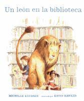 Un léon en la biblioteca
