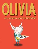 Olivia se prepara para la navidad