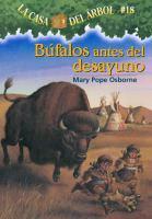 Bufalos antes del desayuno