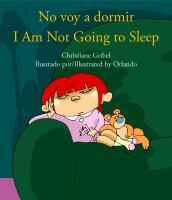 No voy a dormir