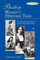 Boston Women's Heritage Trail