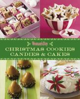 Christmas cookies, candies & cakes.