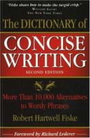 The Dictionary of Concise Writing
