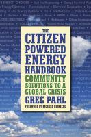 The Citizen-powered Energy Handbook