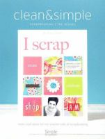 Clean & Simple Scrapbooking