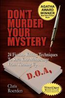 Don't Murder your Mystery