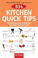 834 Kitchen Quick Tips