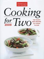 Cooking for Two 2009