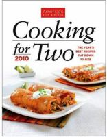 America's Test Kitchen Cooking for Two 2010