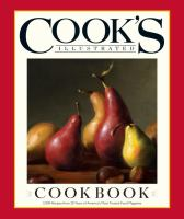 The Cook's Illustrated Cookbook