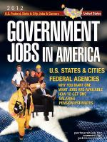 Government Jobs in America