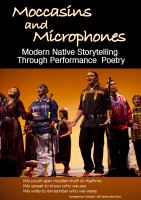 Moccasins and microphones : modern native storytelling through performance poetry