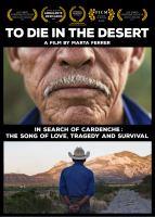 To die in the desert