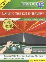Nailing The Job Interview