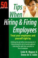 Tips When Hiring & Firing Employees