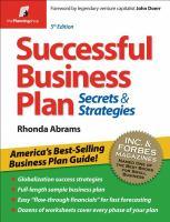 Successful Business Plan