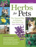 Herbs for Pets