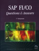 SAP FI/CO Questions and Answers