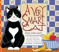 Una gata muy inteligente
