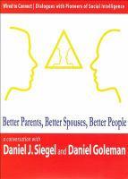 Better Parents, Better Spouses, Better People