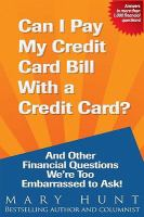 Can I Pay My Credit Card Bill With A Credit Card?